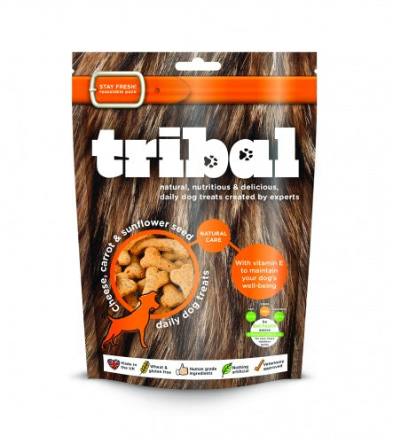 Tribal Treats with Cheese, Carrot & Sunflower Seed 130g