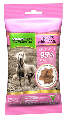 Natures Menu Lamb Treats 60g