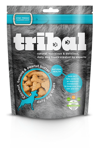 Tribal Treats with Coconut, Banana & Peanut Butter 130g