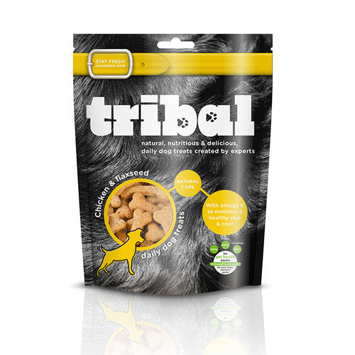 Tribal Treats with Chicken & Flaxseed 130g
