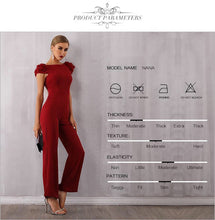 Load image into Gallery viewer, Floral Sleeves Jumpsuit