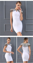 Load image into Gallery viewer, Decorated Short Sleeves Dress