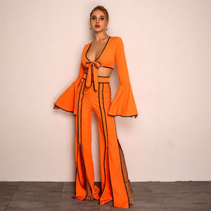 Orange Neon 2 pieces