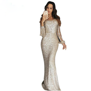 Luxury Sequin Maxi Gown