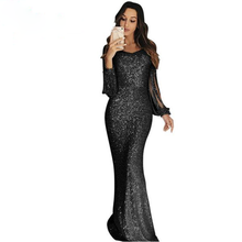 Load image into Gallery viewer, Luxury Sequin Maxi Gown