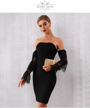 Load image into Gallery viewer, Off Shoulders Ruffle Sleeves