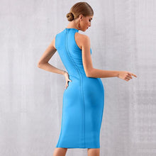Load image into Gallery viewer, Asymmetrical Neck Line Dress