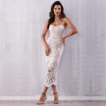 Load image into Gallery viewer, Lace Spaghetti Strap Dress