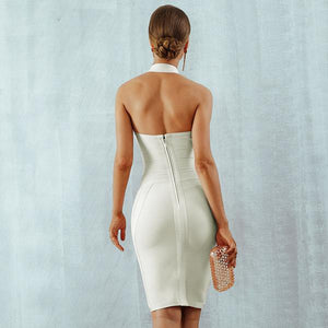 Halter Backless Bodycon Dress