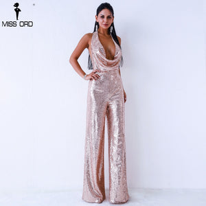 ADD Sequin Light Pink Jumpsuit