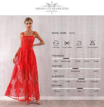 Load image into Gallery viewer, Red Celebrity Party Gown