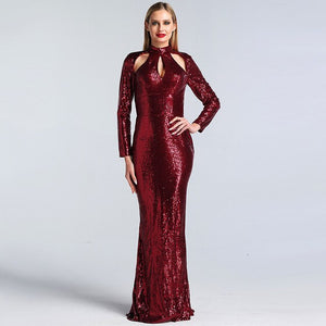 Cutout Evening Dress