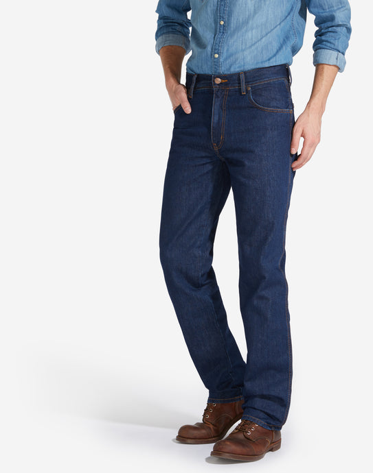 Wrangler Texas non stretch dark stone