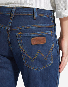 Wrangler Texas stretch dark stone