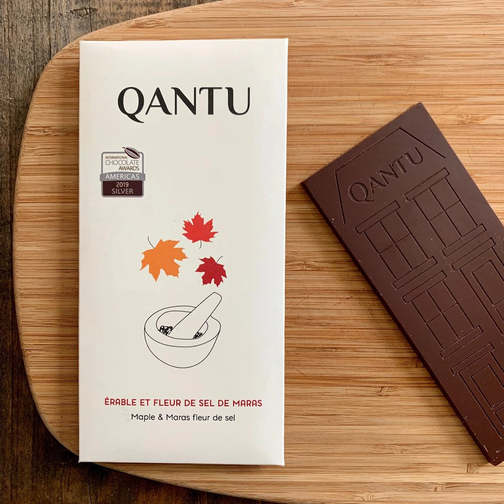 Qantu Maple and Sea Salt Bar