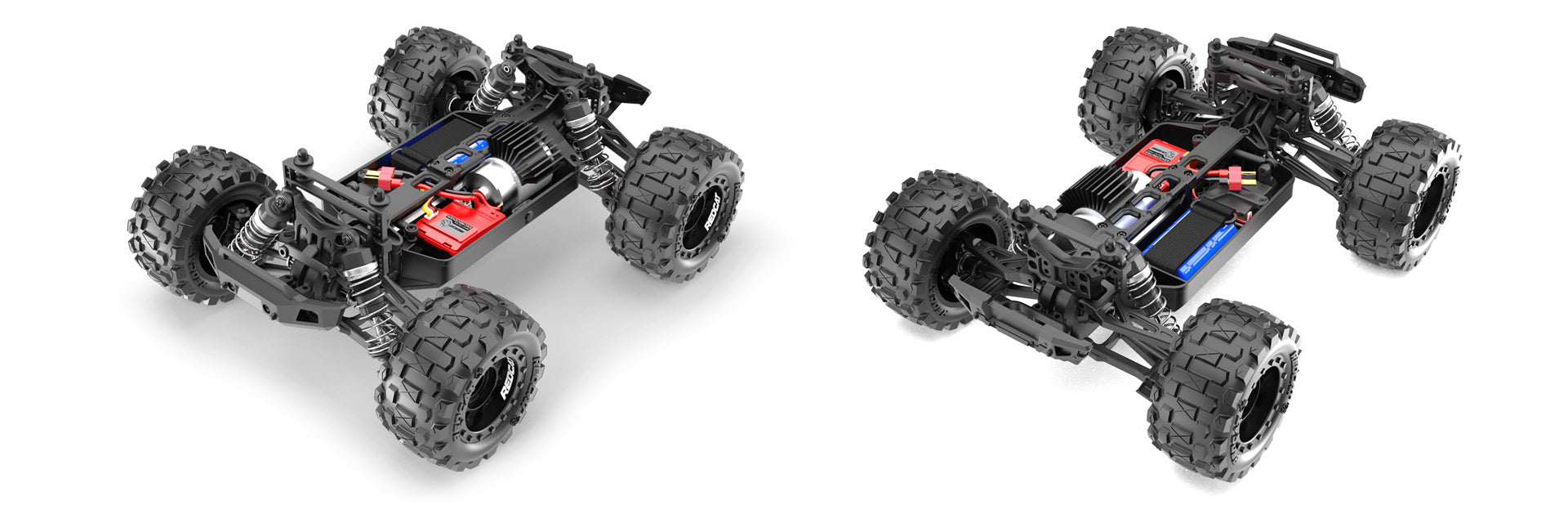 Redcat Volcano 16 1 16 Scale Brushed Monster Truck Shop Rc Cars Trucks Parts And Supplies