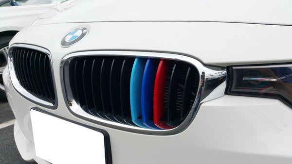 BMW Carbon Fiber Front Grille Replacement