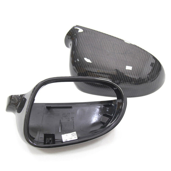 Replacement Carbon Fiber Mirror Cover For Volkswagen Golf Mk5 / Matogan