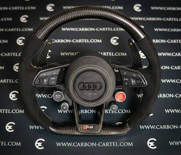 Audi R8 Custom Made Steering Wheel