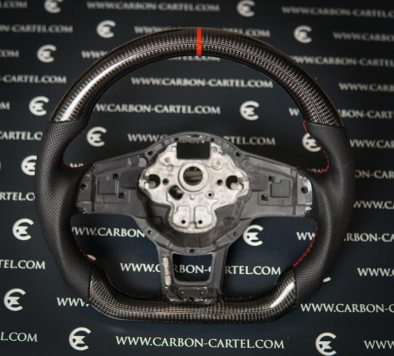 VW GOLF MK7.5 CUSTOM MADE STEERING WHEEL