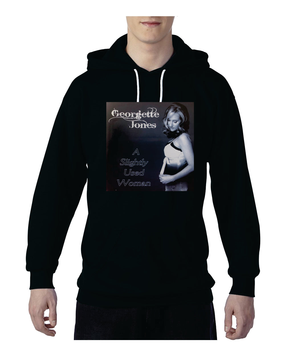 Georgette Jones Pocket Hoodie