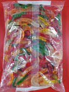 Large Assorted Fruit Gummi Worms