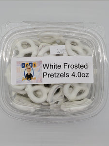 White Frosted Pretzels