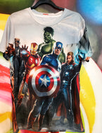 Marvel 3D Printed T-Shirt