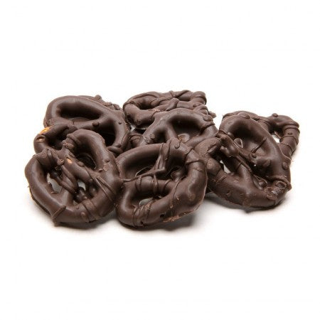 Savory Dark Chocolate Pretzels