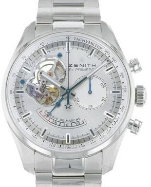 Zenith Chronoma Star Open Power Reserve Silver 03.2080.4021 - Johny Watches - New and used Rolex watches in toronto