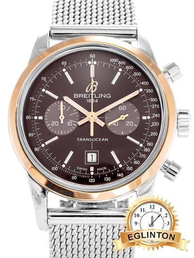 Breitling Transocean Chronograph U41310 - Johny Watches - New and used Rolex watches in toronto