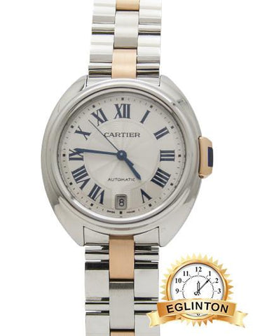 CLÉ DE CARTIER TWO TONE - Johny Watches - New and used Rolex watches in toronto