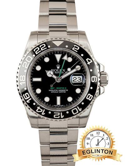 ROLEX GMT MASTER II CERAMIC 116710 LN - Johny Watches - New and used Rolex watches in toronto