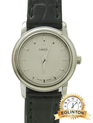 OMEGA DeVille Prestige Stainless Ladies Silver dial 22mm Quartz_229302 - Johny Watches