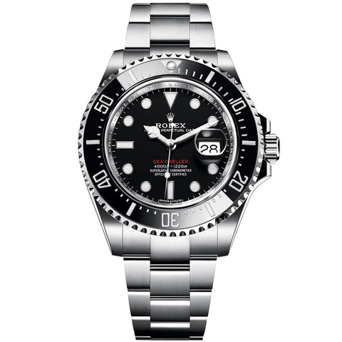 Rolex Sea-Dweller 43 Watch - Black Dial 126600 Full Box &Paper 2019 - Johny Watches