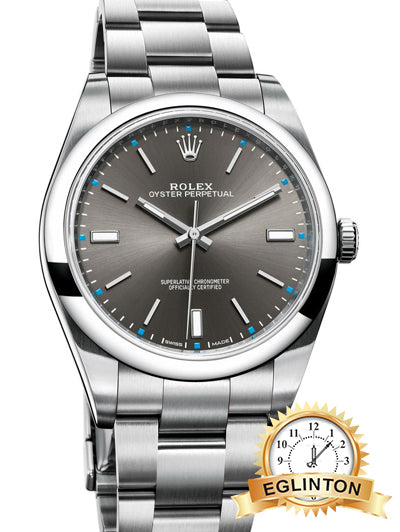 "Oyster Perpetual 39mm stainless steel ""2016"" - Johny Watches - New and used Rolex watches in toronto"
