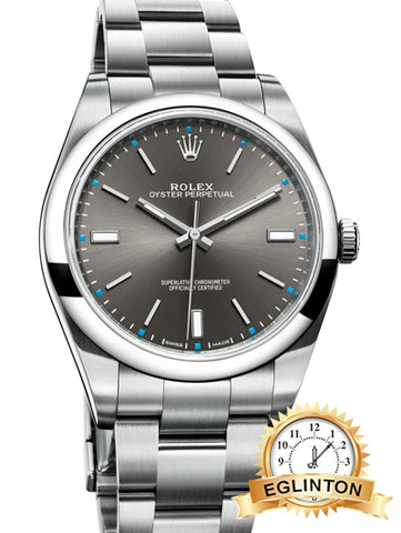 "Oyster Perpetual 39mm stainless steel ""2016"""