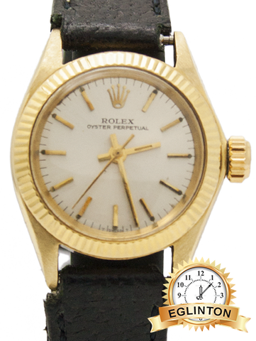 Rolex Datejust Lady 26mm 18k Yellow Gold - Johny Watches - New and used Rolex watches in toronto