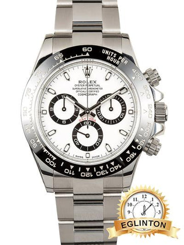 Rolex Daytona Panda Ceramic White Dial - Johny Watches - New and used Rolex watches in toronto
