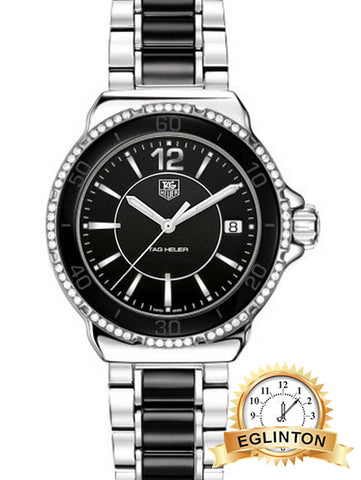 Tag Heuer Formula 1 Black Dial Diamond Women's Watch - Johny Watches