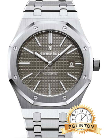 Audemars Piguet Royal Oak SelfWinding with Grey Dial 41mm Stainless Steel Watch 15400ST.OO.1220ST.04 - Johny Watches - New and used Rolex watches in toronto