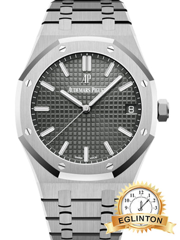 Audemars Piguet Royal Oak Grey 15500 - Johny Watches - New and used Rolex watches in toronto