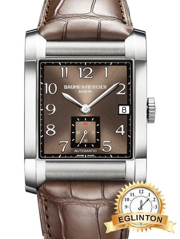 baume mercier hampton 10028 W/box & papers -2011 - Johny Watches - New and used Rolex watches in toronto