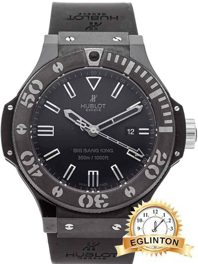 HUBLOTBig Bang King Black Magic Automatic Black Ceramic Case Men's Watch 322-CK-1140-RX - Johny Watches