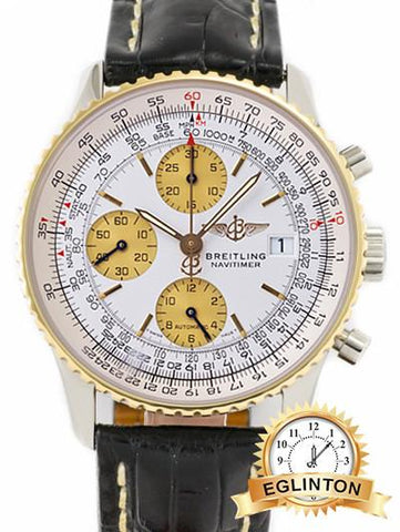 Breitling  Old Navitimer II Two Tone - Johny Watches - New and used Rolex watches in toronto