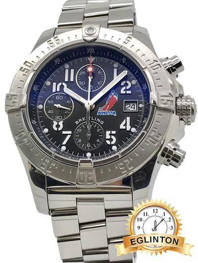 Breitling A13380 Avenger Skyland Limited Edition NHL 1/500 45mm Men's Watch B&P - Johny Watches