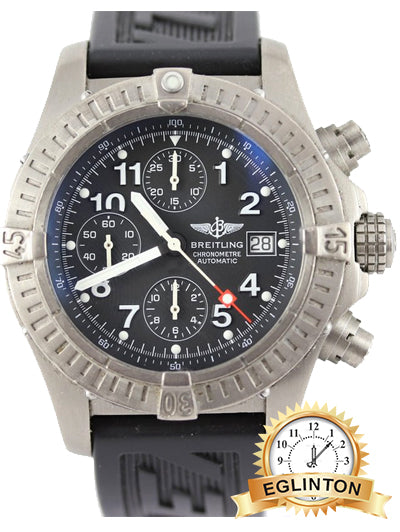 Breitling Aeromarine Avenger Chronograph Titanium Watch E13360 - Johny Watches