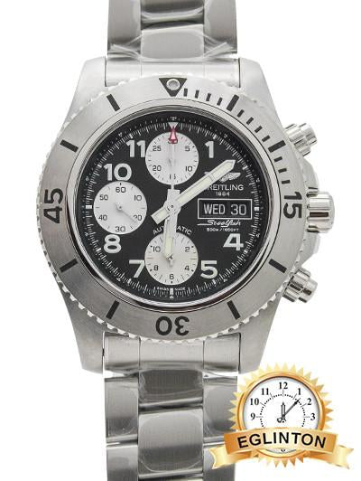 Breitling SuperOcean Chronograph Steel Fish - Johny Watches - New and used Rolex watches in toronto