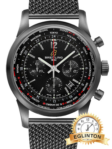 Breitling Transocean Unitime Pilot Limited Edition Men's Watch MB0510U6/BC80-159M - Johny Watches