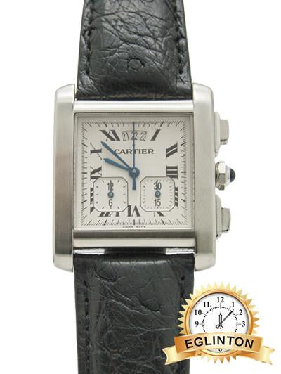 CARTIER Tank Française Chrono - Johny Watches - New and used Rolex watches in toronto